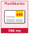Plastikkarten 760my - Best Price