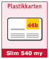 Plastikkarten SLIM - Best Price